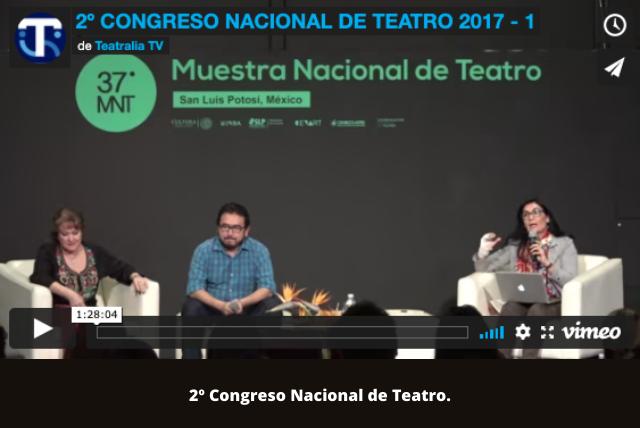 2º Congreso Nacional de Teatro.