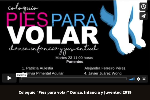 Coloquii Pies para volar Danza, Infancia y Juventud 2019 (1)