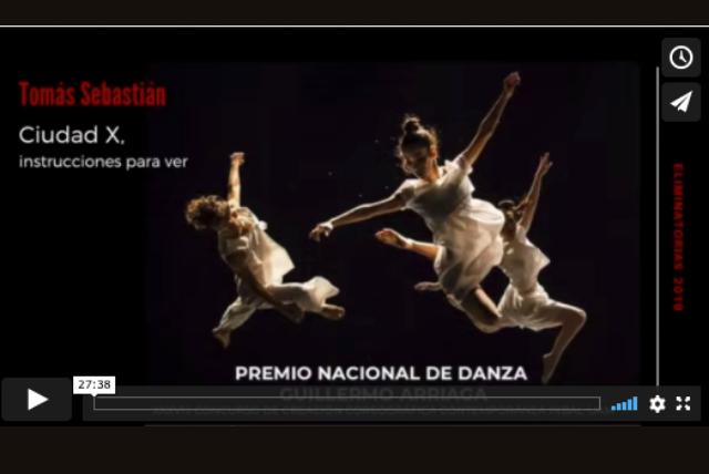 PREMIO NAACIONAL DE DANZA 2019